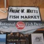 Fred Watts's old Fish Depo sign.